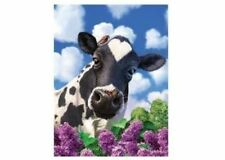 3d LiveLife Poster - Curious Cow