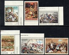 Greece 1971 War of Independence (Land) 150th Anniversary SG.1181/1186 Mint (MNH)