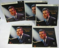 Lot of 5 45 Records Tennessee Ernie Ford Hymns 1 2 & 3 With Picture Sleeve