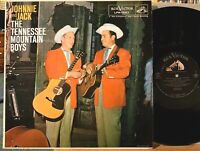 Johnnie and Jack The Tennessee Mountain Boys Vinyl LP RCA LPM-1587 Mono 1958 VG+