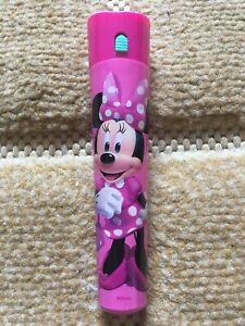 Girls Minnie Mouse Pink Torch