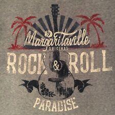 buffett Margaritaville t shirt - Rock & Roll Paradise - tag (M) but fits (L)