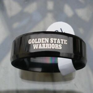 Golden State Warriors Team Black Titanium Ring, your choice