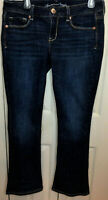 Women's American Eagle Boot Cut Dark Wash Low Rise Stretch Jeans Size 10