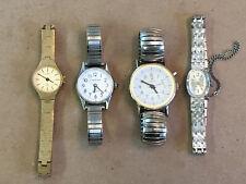 4 Vintage Ladies Quartz Watches For Parts or Repair - 3 Cardinal & 1 Celebrity
