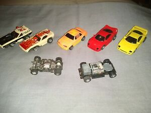 Lot Of Afx Tyco Slot Cars