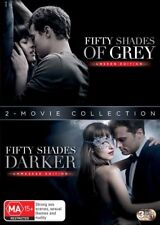 Fifty Shades Of GREY / Fifty Shades DARKER : NEW DVD