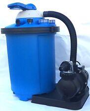 Pompa filtro a sabbia per la filtrazione e pulizia acqua della piscina 8 m3/h
