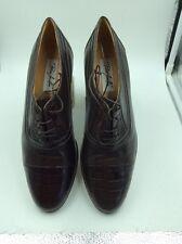 Paco Lui Láu Men's Retro Brown Italian Leather Shoes, Never Worn No Box V Rare
