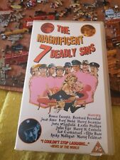 The Magnificent 7 Deadly sins Vhs