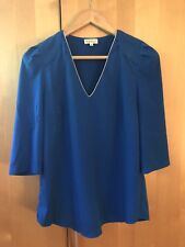 Claudie pierlot 38 Silk Electric Blue Top