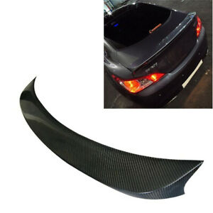 Carbon Fiber Performance Rear Trunk Wing Spoiler For Hyundai Genesis Coupe 10-15