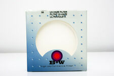 B+W 58 mm UV HAZE SC Single Coated 010 Empty Filter Box & Plastic Case #70113