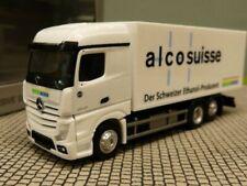 Herpa LKW MB Actros 11 Bigspace Semitieflade-SZ Többe+Zollstock