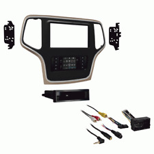 Metra 99-6536BZ Installation KitFor Jeep Grand Cherokee 2015-Up, Double Din