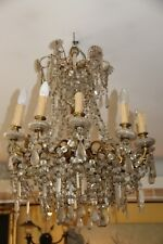 Crystal chandelier lighting French antique chandelier light Vintage chandelier