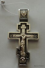 Russian  sterling silver 925'  Pendant Cross #5se