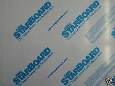 "Black King Starboard HDPE Polymer Plastic Sheet 1/4"" Thick You Pick The Size"
