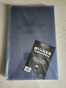 BCW 8.5x14 Toploader Holders (20 Per Set) Rigid PVC