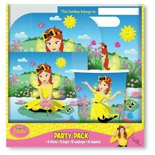 The Wiggles Party Supplies Emma 40 Piece Party Pack to suit 8 Guests
