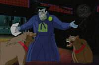 Batman Animated Series Original Production Cel Joker and Hyenas-Jokers Millions