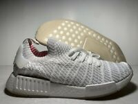 Adidas NMD R1 STLT PK Cloud White BOOST Running Shoes CQ2390 Men's Size 12 US