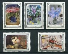 30223) RUSSIA 1979 MNH** Russian Flower Paintings 5v.