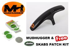 MUDHUGGER Mudguard - Front Mountain Bike 26 27.5 29 & Slime Skab Patch Kit