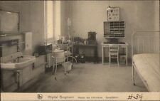 Bruxelles Hopital Hospital Brugmann c1915 Postcard #2 Masion Des Infirmieres