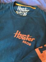 Howler Bros Brothers Longsleeve 100% Cotton Logo Shirt Medium M Mens