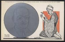 Postcard YOGI-SWAMI METAMORPHIC CRYSTAL BALL FORTUNE TELLING CARD #1 1929