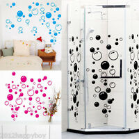 Wall Art Bathroom Shower Tile Removable Decor Decal Mural Sticker 86 Bubbles DIY