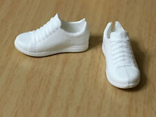 Barbie Fashionistas Curvy Doll Lace Up White Sneakers Shoes