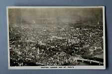 R&L Postcard: London Central Aerial View, Aircraft Manufacturing Co, Airco Plane