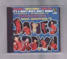 (CD) JAMES BROWN - It's A Man's, Man's, Man's World: Soul Brother #1 / Import