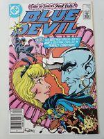 BLUE DEVIL #7 (1984) DC COMICS RED HOT! HTF NEWSSTAND VARIANT EDITION