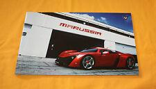 Marussia B2 2012 Prospekt Brochure Depliant Catalog Prospetto Prospecto Cosworth