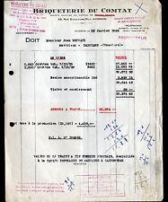 """AVIGNON (84) USINE / BRIQUES """"BRIQUETERIE DU COMTAT"""" en 1950"""