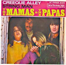 ++THE MAMAS & THE PAPAS creeque alley/string man SP 1967 RCA VG++