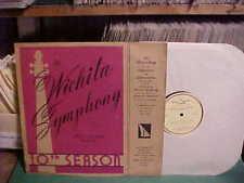 WICHITA [KANSAS] SYMPHONY ORCHESTRA 1952-1953 PROMO LP