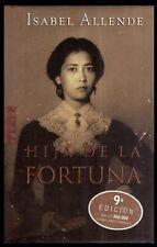 HIJA DE LA FORTUNA - Isabel Allende - LIBRO / BOOK - Tapa Dura / 9ª Edición