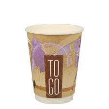 500 Premium Trinkbecher Coffee To Go 0,3 l Ø 9cm 11,2 cm doppelwandig Pappbecher
