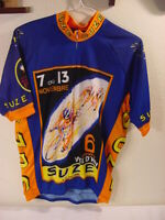 SUZE CYCLING JERSEY - MEN'S SIZE LARGE