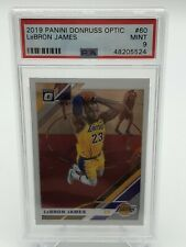 2019-20 Panini Optic Lebron James Base Card PSA 9 - Invest - Lakers