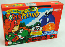 Jeu SUPER MARIO WORLD 2 YOSHI'S ISLAND sur Super Nintendo SNES Neuf PAL NEW !