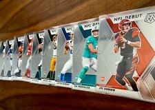 2020 Mosaic NFL Football Base NFL DEBUT #261-280 - Complete Your Set - PHOTOS