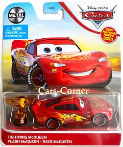 Disney Pixar Cars 2 Lightning McQueen With Piston Cup Wgp Italia Model 2020 Ovp