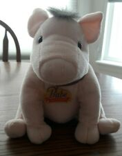 "BABE and Friends Pink Pig Plush Stuffed Toy 10"" Equity Toy Universal Studio 1998"