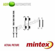 MINTEX REAR PARKING BRAKE SHOES SET FITTING KIT GENUINE OE QUALITY - MBA801