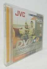 JVC DVD+R 1-16x High-Speed Disc for Video Data Single Version 1.3 (New, 4.7 GB)